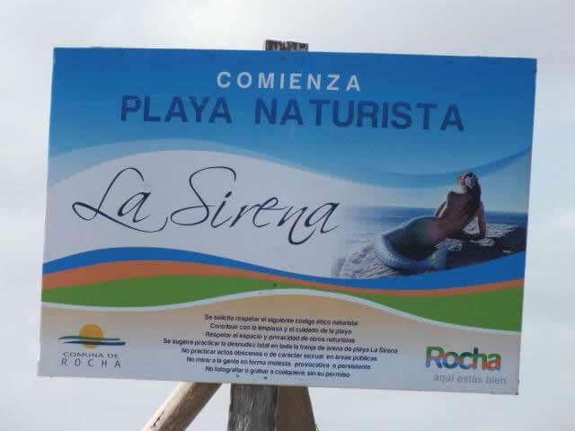 Playa La Sirena, Aguas Dulces